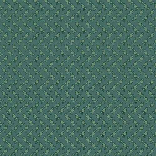 Andover SEQUOIA, Tulips Blue 8757T, 100% Cotton Patchwork Quilting Fabric